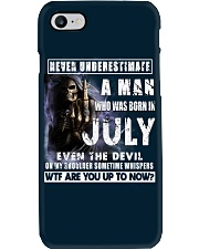 July Guy Devil - Amazing Shirt Phone Case thumbnail