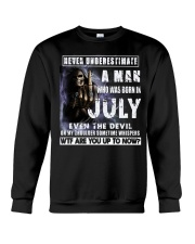 July Guy Devil - Amazing Shirt Crewneck Sweatshirt thumbnail