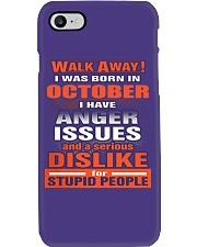 OCTOBER BIRTHDAY  - FUNNY SHIRT   Phone Case thumbnail