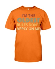 Im The Oldest - I Make The Rules Shirt Brother or  Classic T-Shirt tile