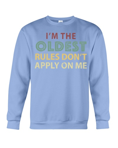 Im The Oldest - I Make The Rules Shirt Brother or