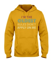 Im The Oldest - I Make The Rules Shirt Brother or  Hooded Sweatshirt thumbnail