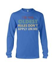 Im The Oldest - I Make The Rules Shirt Brother or  Long Sleeve Tee thumbnail