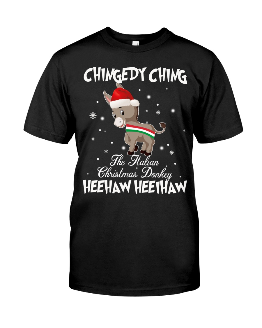 The Italian Christmas Donkey  Classic T-Shirt