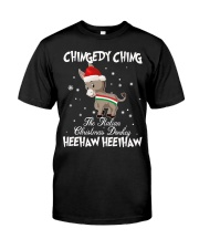 The Italian Christmas Donkey  Classic T-Shirt front