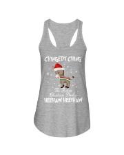 The Italian Christmas Donkey  Ladies Flowy Tank thumbnail