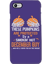 HALLOWEEN  DECEMBER GUY - FUNNY SHIRT   Phone Case thumbnail