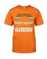 Vintage Retro Allegedly Ostrich T-shirt Classic T-Shirt tile
