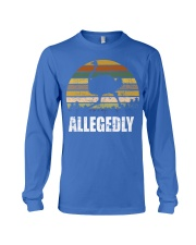 Vintage Retro Allegedly Ostrich T-shirt Long Sleeve Tee thumbnail