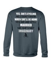 YES-SHE'S CYCLING Crewneck Sweatshirt back