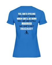 YES-SHE'S CYCLING Premium Fit Ladies Tee thumbnail