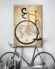 Vintage Poster Bike World Map 11x17 Poster lifestyle-poster-7