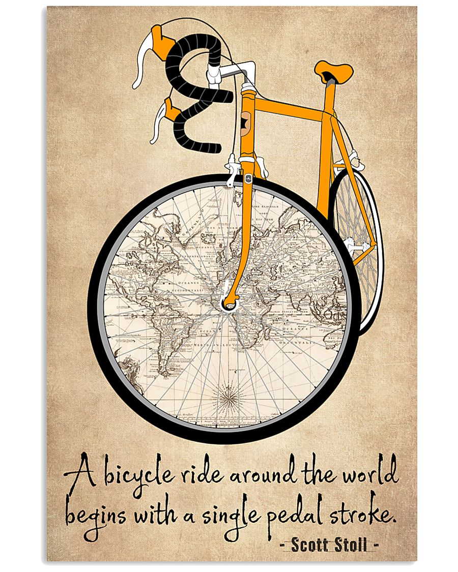 Cycling Quotes That Will Inspire You To Get Out  11x17 Poster