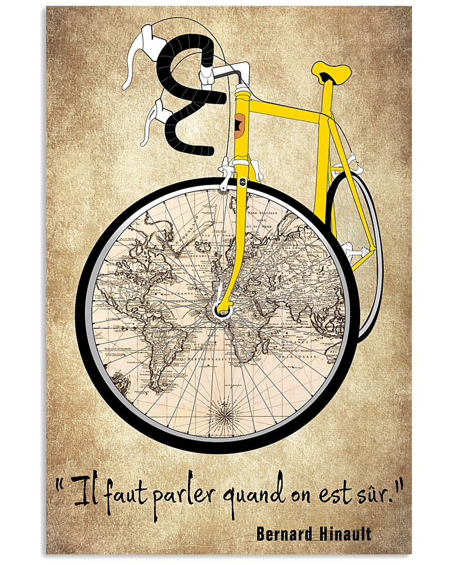 CITATIONS CYCLISME  11x17 Poster