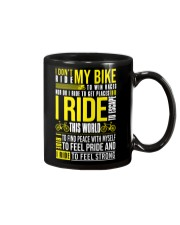 I DON'T RIDE MY BIKE TO WIN  Mug thumbnail