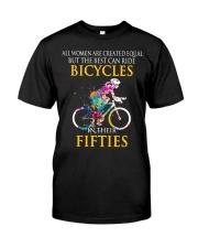 Equal Cycling FIFTIES Women Shirt - FRONT Premium Fit Mens Tee thumbnail