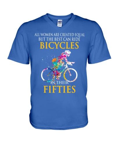 Equal Cycling FIFTIES Women Shirt - FRONT