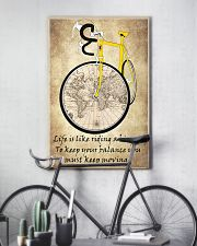 Life Is Like Riding A Bicycle 11x17 Poster lifestyle-poster-7