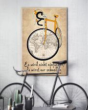 Sprueche Fahrrad Inspiration Motivation 11x17 Poster lifestyle-poster-7