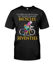 Equal Cycling SEVENTIES Women Shirt - FRONT Premium Fit Mens Tee thumbnail