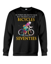 Equal Cycling SEVENTIES Women Shirt - FRONT Crewneck Sweatshirt tile
