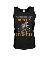 Equal Cycling SEVENTIES Women Shirt - FRONT Unisex Tank thumbnail