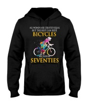 Equal Cycling SEVENTIES Women Shirt - FRONT Hooded Sweatshirt front