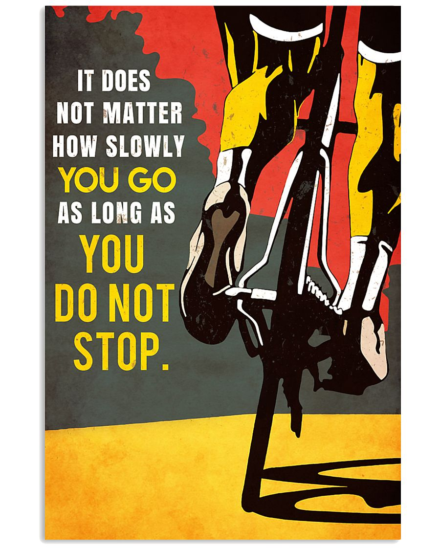YOU DO NOT STOP 11x17 Poster