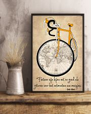 Inspirerende Quote Over Fietsen 11x17 Poster lifestyle-poster-3