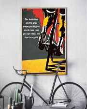 Inspirational Cycling Quotes To Get You Riding 11x17 Poster lifestyle-poster-7