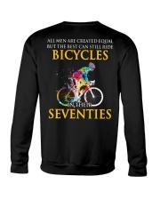 Equal Cycling SEVENTIES Men Shirt - Back Crewneck Sweatshirt thumbnail