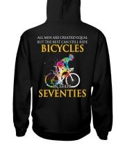 Equal Cycling SEVENTIES Men Shirt - Back Hooded Sweatshirt thumbnail