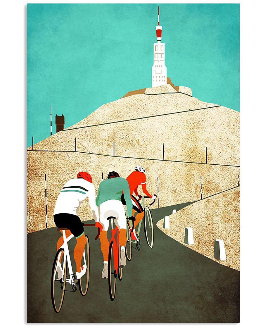 Equal Cycling SIXTIES Men Shirt - Back 11x17 Poster