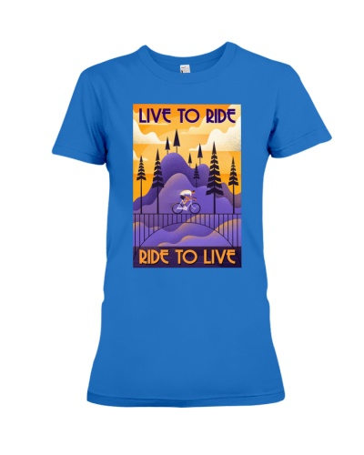 LIVE TO RIDE - RIDE TO LIVE