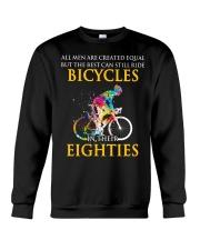 Equal Cycling EIGHTIES Men Shirt - FRONT Crewneck Sweatshirt thumbnail