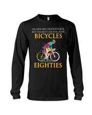 Equal Cycling EIGHTIES Men Shirt - FRONT Long Sleeve Tee thumbnail