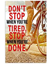 Where You're Done Poster 11x17 Poster front