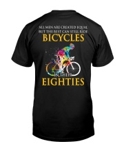 Equal Cycling EIGHTIES Men Shirt - Back Premium Fit Mens Tee thumbnail