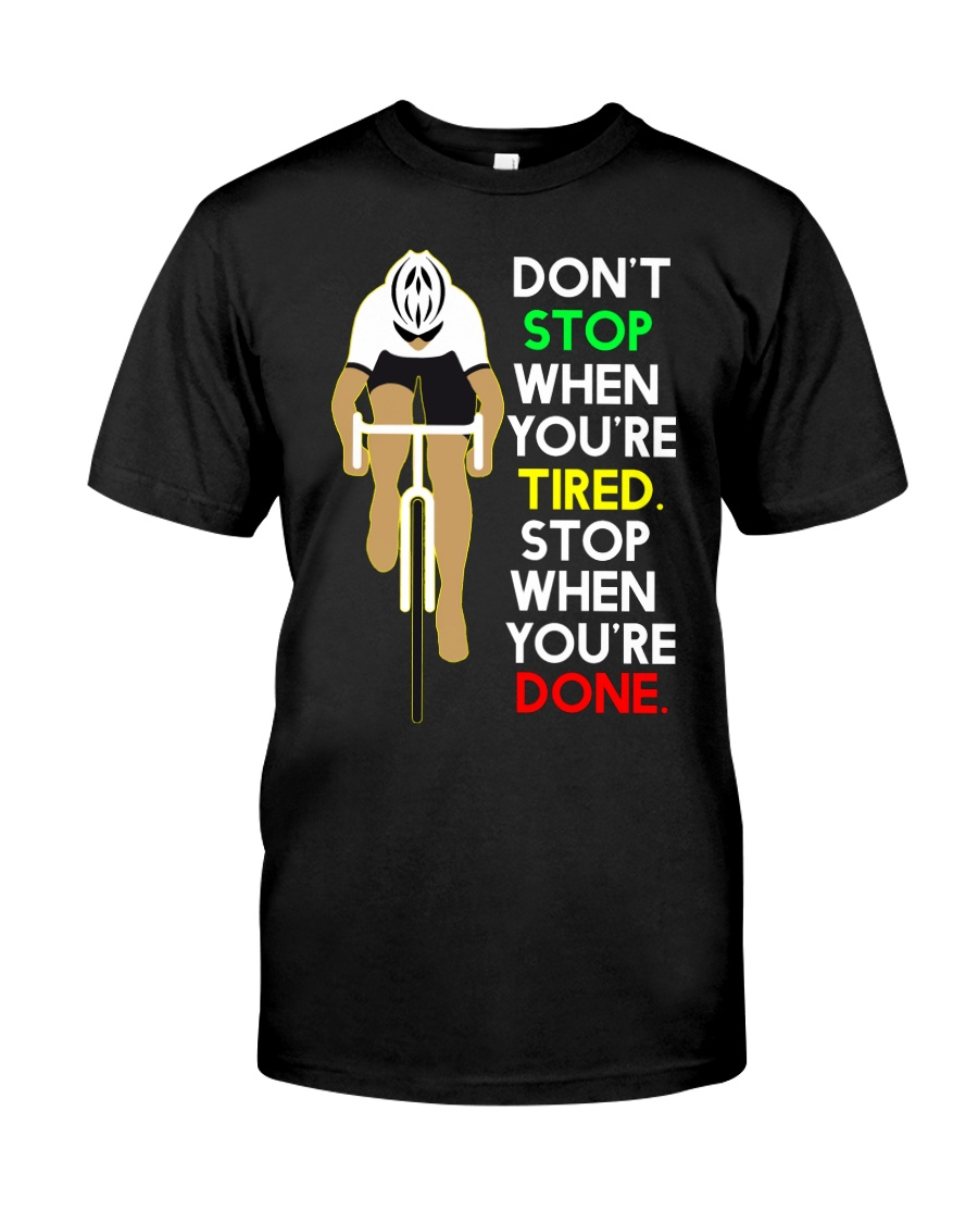 Sprueche Fahrrad Inspiration Motivation Classic T-Shirt