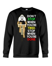 Sprueche Fahrrad Inspiration Motivation Crewneck Sweatshirt thumbnail