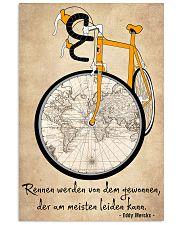 Sprueche Fahrrad Inspiration Motivation 24x36 Poster thumbnail