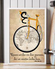Sprueche Fahrrad Inspiration Motivation 11x17 Poster lifestyle-poster-4