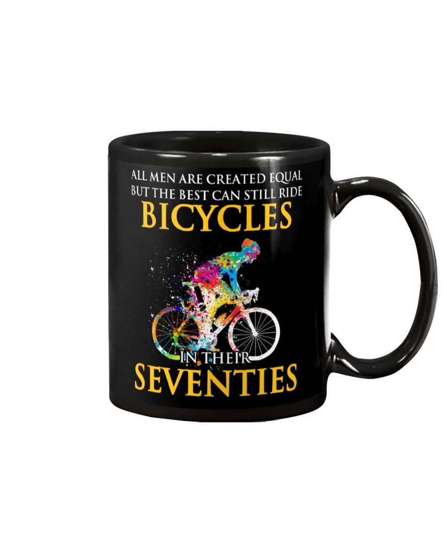 Equal Cycling Seventies Men Mug