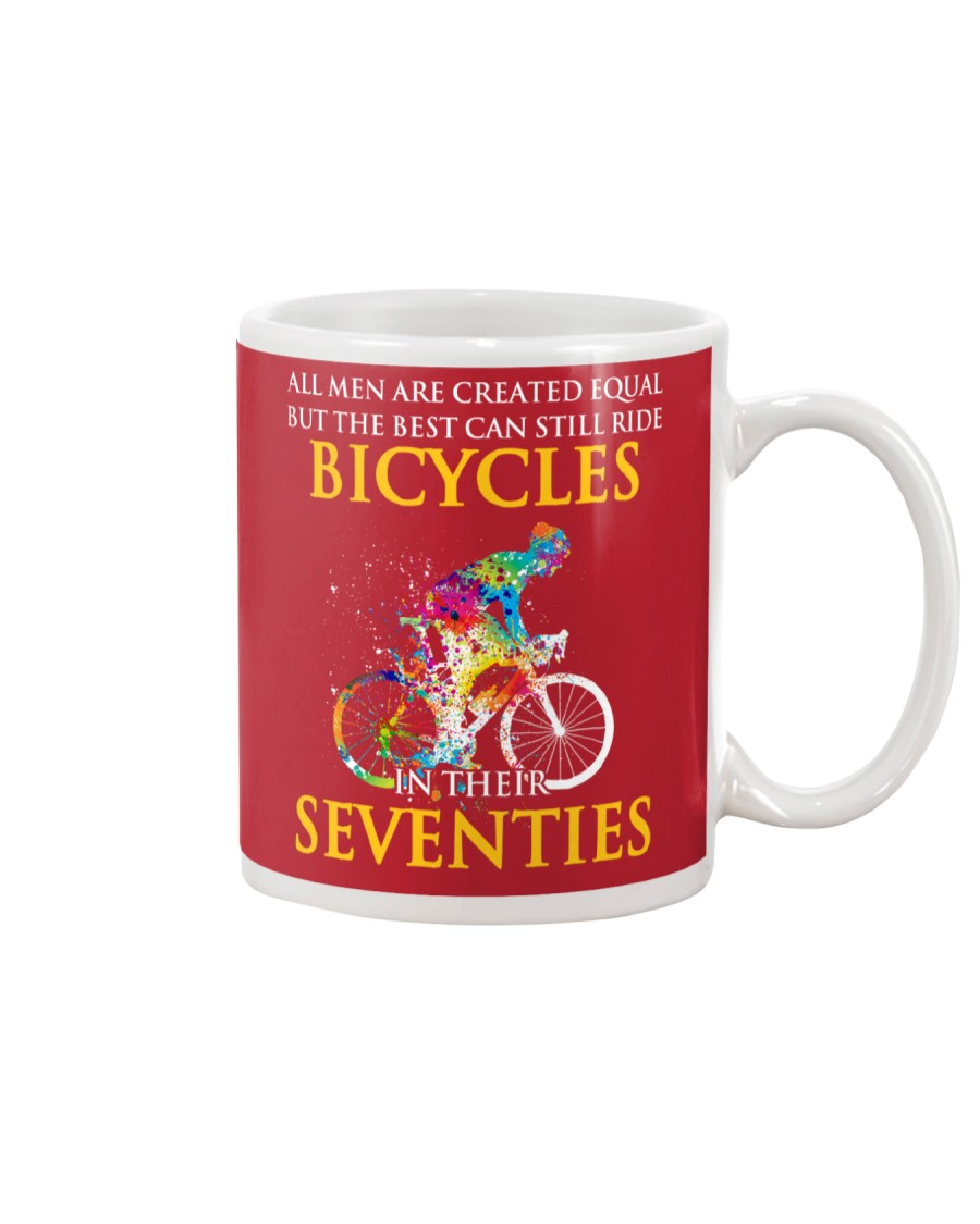 Equal Cycling Seventies Men Mug