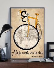 Inspirerende Quote Over Fietsen 11x17 Poster lifestyle-poster-2