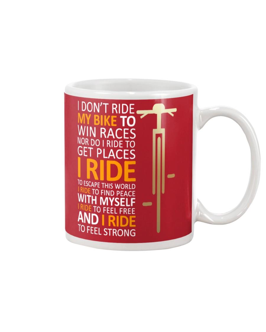 Equal Cycling Sixties Men Mug