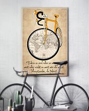 Sprueche Fahrrad Inspiration Motivation 11x17 Poster lifestyle-poster-7
