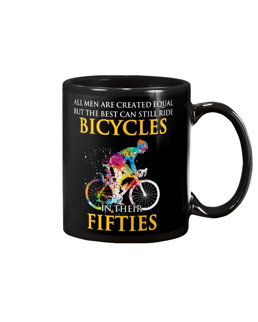 Equal Cycling Fifties Men Mug