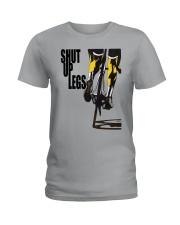 I DONT RIDE MY BIKE TO WIN Ladies T-Shirt thumbnail
