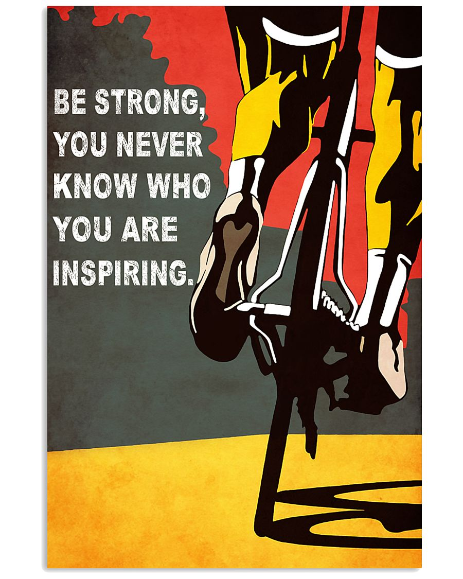 BE STRONG 11x17 Poster